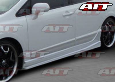 AIT Racing - Honda Civic 4DR AIT I-Spec Style Side Skirts - HC06HIINGSS4