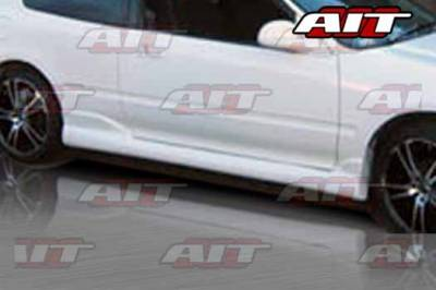 AIT Racing - Honda Civic HB AIT BXS Style Side Skirts - HC92HIBMXSS3