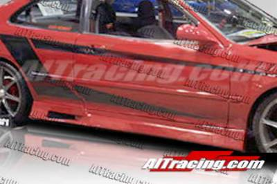 AIT Racing - Honda Civic 2DR AIT Racing Revolution Style Side Skirts - HC92HIREVSS2