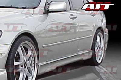 AIT Racing - Honda Civic 2DR & 4DR AIT EVO4 Style Side Skirts - HC96HIEVO4SS2