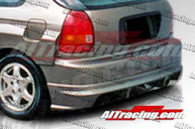 AIT Racing - Honda Civic AIT Racing Feels Style Rear Bumper - HC96HIFLSRB3