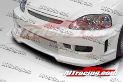 AIT Racing - Honda Civic AIT Racing Revolution Style Front Bumper - HC96HIREVFB