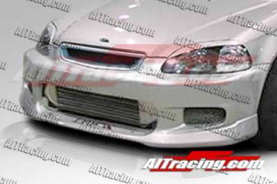 AIT Racing - Honda Civic AIT Racing CW Style Front Bumper - HC99HICWSFB