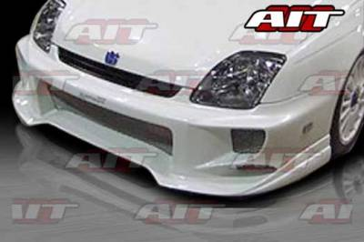 AIT Racing - Honda Prelude AIT ALK Style Front Bumper - HP97HIALKFB