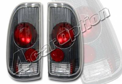 4 Car Option - Ford F150 4 Car Option Altezza Taillights - Carbon Fiber Style - LT-FF97SF-YD