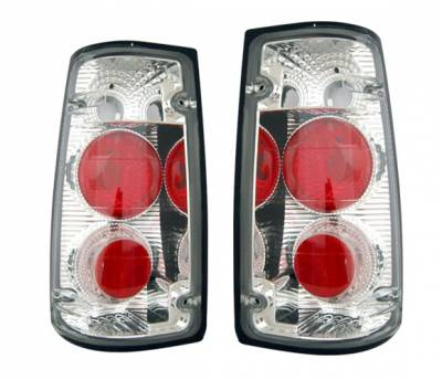 4 Car Option - Isuzu Rodeo 4 Car Option Altezza Taillights - Chrome - LT-IR91A-3