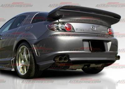 AIT Racing - Mazda RX-8 AIT Racing ABF Style Rear Bumper - M803HIABFRB