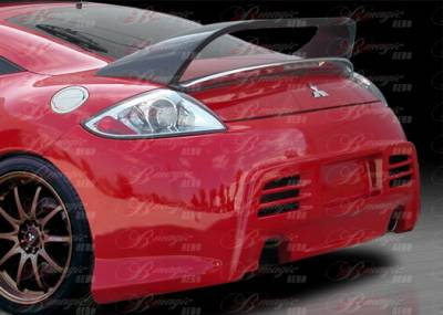 AIT Racing - Mitsubishi Eclipse AIT Racing Blackout-2 Style B-Magic Rear Bumper - ME06BMBKO2RB