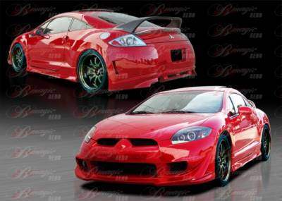 AIT Racing - Mitsubishi Eclipse AIT Racing Blackout-3 Style B-Magic Complete Body Kit - ME06BMBKO3CK