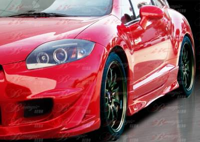 AIT Racing - Mitsubishi Eclipse AIT Racing Blackout-3 Style B-Magic Side Skirts - ME06BMBKO3SS