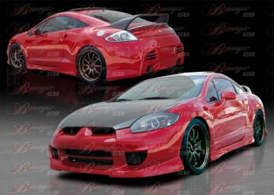 AIT Racing - Mitsubishi Eclipse AIT Racing Blackout-1 Style B-Magic Complete Body Kit - ME06BMBKOCK