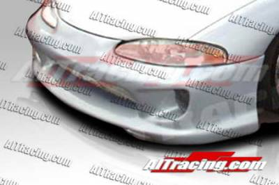AIT Racing - Mitsubishi Eclipse AIT Racing Combat Style Front Bumper - ME97HICBSFB