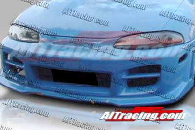AIT Racing - Mitsubishi Eclipse AIT Racing R34 Style Front Bumper - ME97HIR34FB