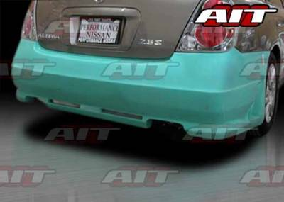 AIT Racing - Nissan Altima AIT R34 Style Rear Bumper - NA03HIR34RB