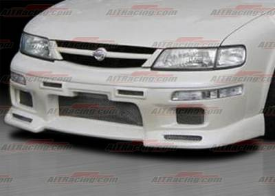 AIT Racing - Nissan Maxima AIT Racing R33 Style Front Bumper - NM95HIR33FB