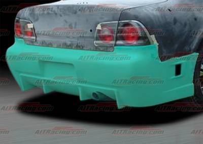 AIT Racing - Nissan Maxima AIT Racing R34 Style Rear Bumper - NM95HIR34RB
