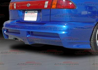AIT Racing - Nissan Sentra AIT Racing Extreme Style Rear Bumper - NS95HIEXSRB