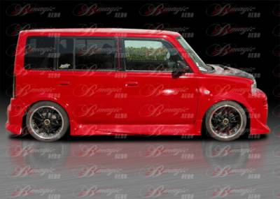 AIT Racing - Scion xB AIT Racing Diablo Style Side Skirts - SB04BMDIBSS