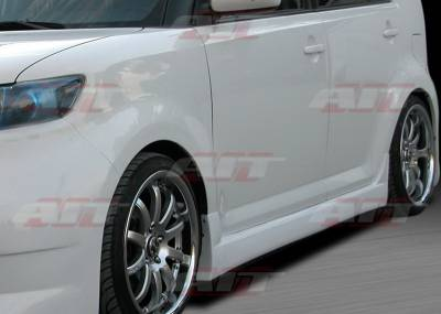 AIT Racing - Scion xB AIT Racing FAB Style Side Skirts - SB08HIFABSS