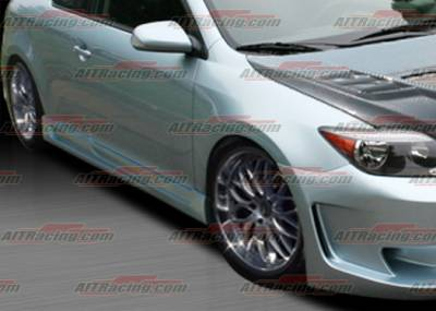 AIT Racing - Scion tC AIT Racing KS Style Side Skirts - SC04HIKSSS