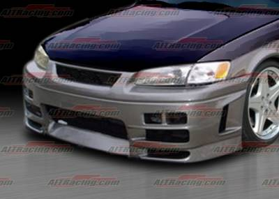 AIT Racing - Toyota Camry AIT Racing EVO4 Style Front Bumper - TC97HIEVO4FB