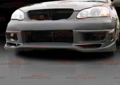 AIT Racing - Toyota Corolla AIT Racing VIR Style Front Bumper - TCO03HIVIRFB