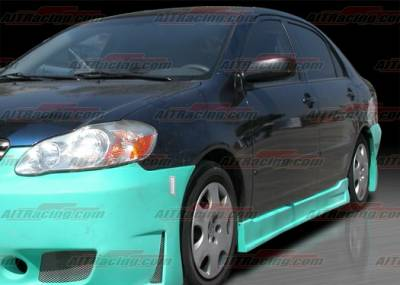 AIT Racing - Toyota Corolla AIT Racing Zen Style Side Skirts - TCO03HIZENSS