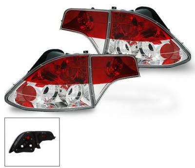 4CarOption - Honda Civic 4DR 4CarOption Altezza Taillights - XT-TLZ-CV06074-6