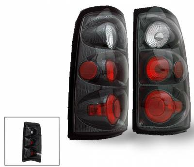 4CarOption - Chevrolet Silverado 4CarOption Altezza Taillights - XT-TLZ-SLV0305CB-6