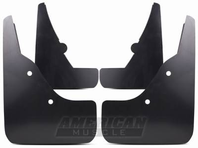 AM Custom - Ford Mustang Molded Mud Flaps