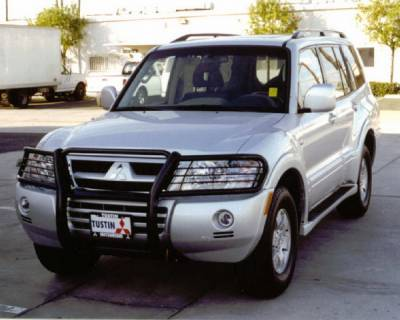 Aries - Mitsubishi Montero Aries Grille Guard - 1PC