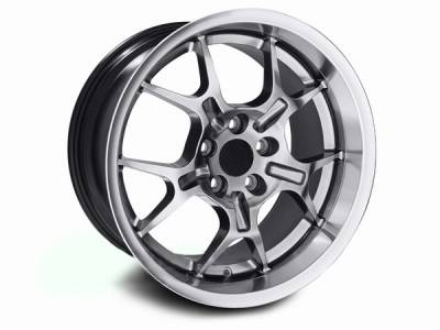 AM Custom - Ford Mustang Hypercoated Deep Dish GT4 Wheel