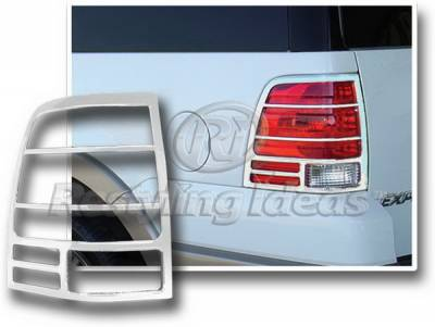 Restyling Ideas - Ford Expedition Restyling Ideas Taillight Bezel - Chrome - 26814
