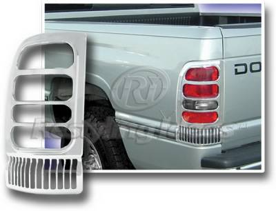 Restyling Ideas - Dodge Ram Restyling Ideas Taillight Bezel - Chrome - 26822