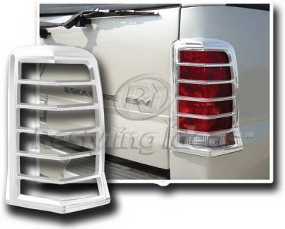 Restyling Ideas - Cadillac Escalade Restyling Ideas Taillight Bezel - Chrome - 26830