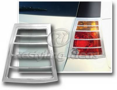 Restyling Ideas - Chrysler Pacifica Restyling Ideas Taillight Bezel - Chrome - 26832