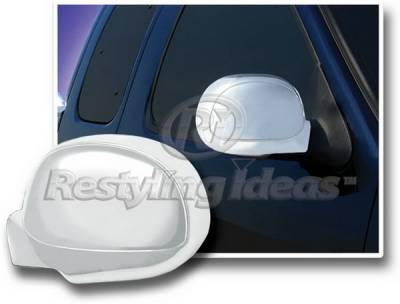Restyling Ideas - Lincoln Navigator Restyling Ideas Mirror Cover - Chrome ABS - 67310
