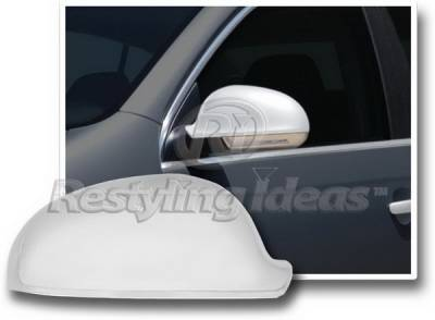 Restyling Ideas - Volkswagen Rabbit Restyling Ideas Mirror Cover - Chrome ABS - 67343