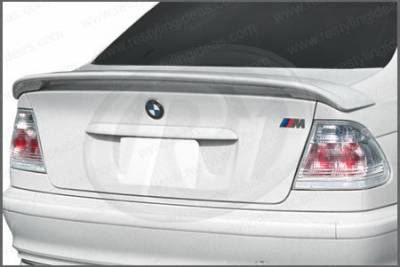 Restyling Ideas - BMW 3 Series 4DR Restyling Ideas Factory Style Spoiler - 01-BM3S99F4