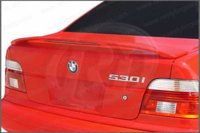 Restyling Ideas - BMW 5 Series Restyling Ideas Factory Style Spoiler with LED - 01-BM5S99FL