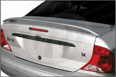 Restyling Ideas - Ford Focus 4DR Restyling Ideas Factory Style Spoiler - 01-FOFO00F4