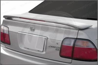 Restyling Ideas - Honda Accord 2DR & 4DR Restyling Ideas Factory Style Spoiler with LED - 01-HOAC96FL