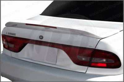 Restyling Ideas - Mitsubishi Galant Restyling Ideas Factory Style Spoiler with LED - 01-MIGA94FL