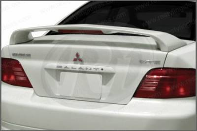 Restyling Ideas - Mitsubishi Galant Restyling Ideas Factory Style Spoiler with LED - 01-MIGA99FL