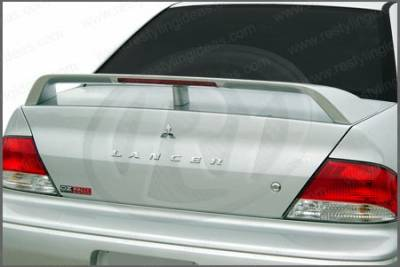 Restyling Ideas - Mitsubishi Lancer Restyling Ideas Factory Style Spoiler with LED - 01-MILA02FL