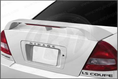 Restyling Ideas - Mitsubishi Mirage Restyling Ideas Factory Style Spoiler with LED - 01-MIMI97FL