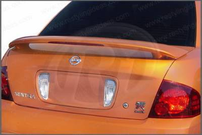 Restyling Ideas - Nissan Sentra Restyling Ideas Factory 2-Post Style Spoiler with LED - 01-NISE00FL2