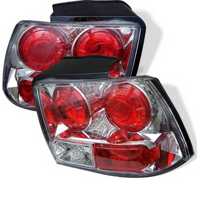 Spyder Auto - Ford Mustang Spyder Altezza Taillights - Chrome - 111-FM99-C