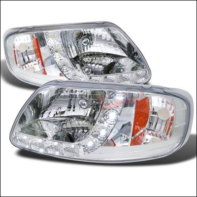 Spec-D - Ford F150 Spec-D Design LED Headlight 1PC - 2LH-F150971PC-RS