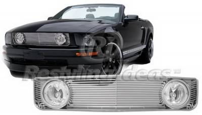 Restyling Ideas - Ford Mustang Restyling Ideas Grille - 72-GF-MUS05VGL-CH